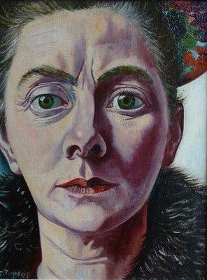 Autoportrait, charley toorop