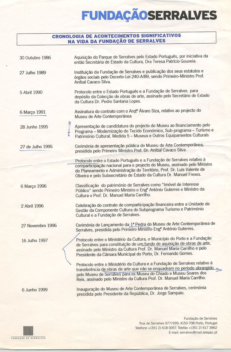 1999 cronologia 1