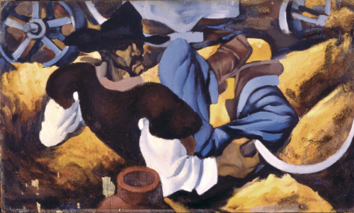 Descanso 1945 (48 x 80 cm)