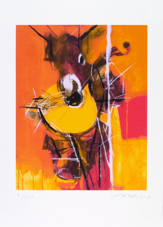 Serigrafia Pomar amarela 262k